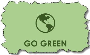 GO GREEN and lower hospital costs.