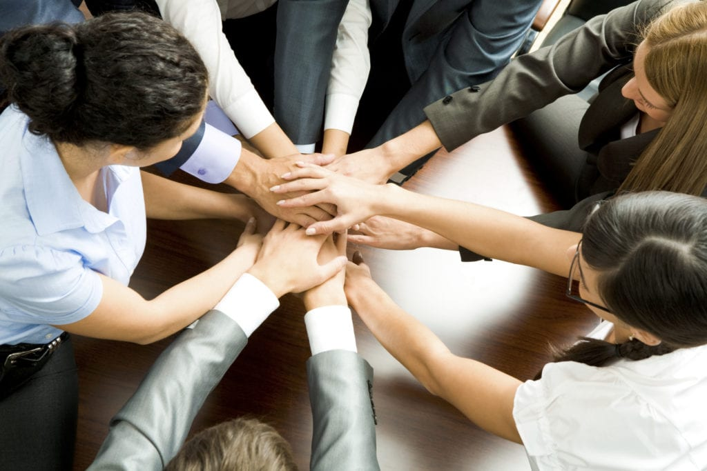 Team work at HealthWare Systems
