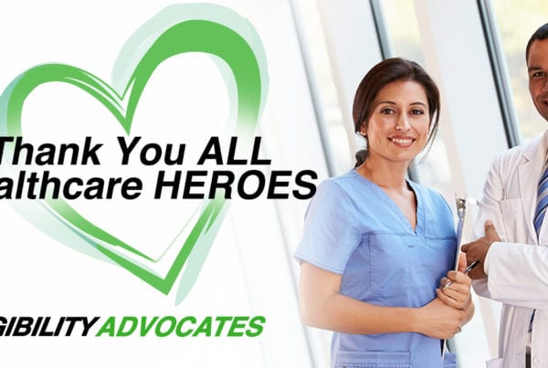 EligibilityAdvocates COVID-19 Response - Thank You, ALL Healthcare HEROES!