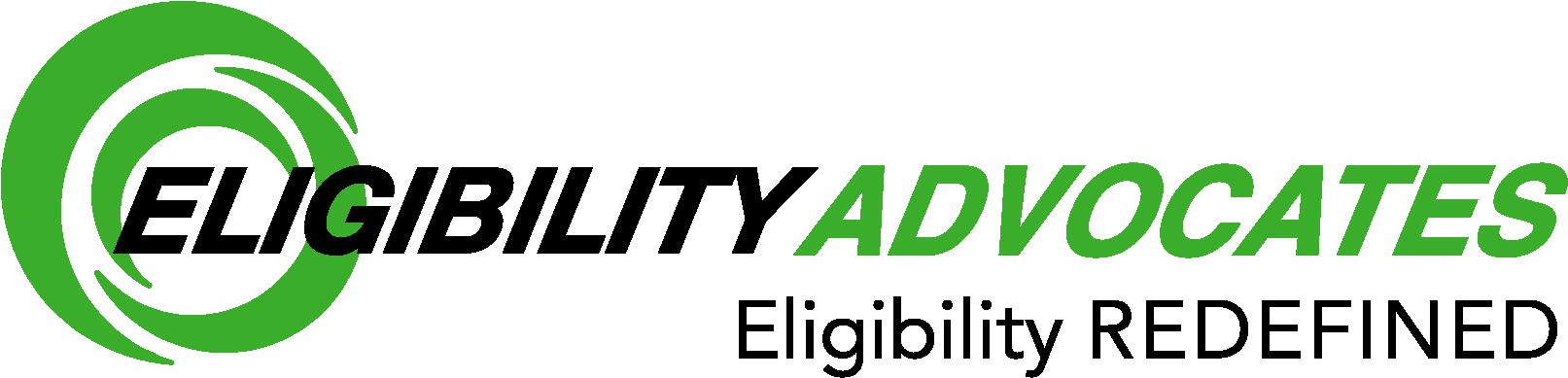 The logo of patient eligibility service and out-of-state Medicaid billing company EligibilityAdvocates.